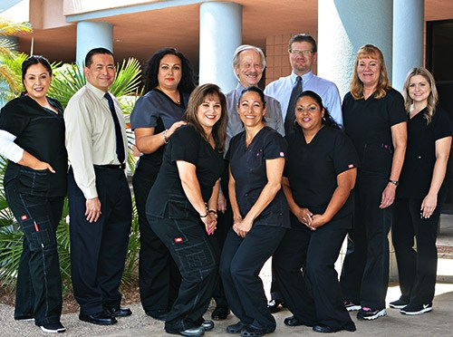 The caring Smile Fitness Dental Centers team