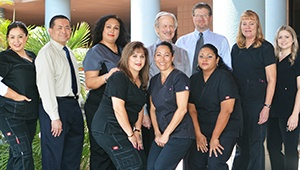 Our friendly dental team