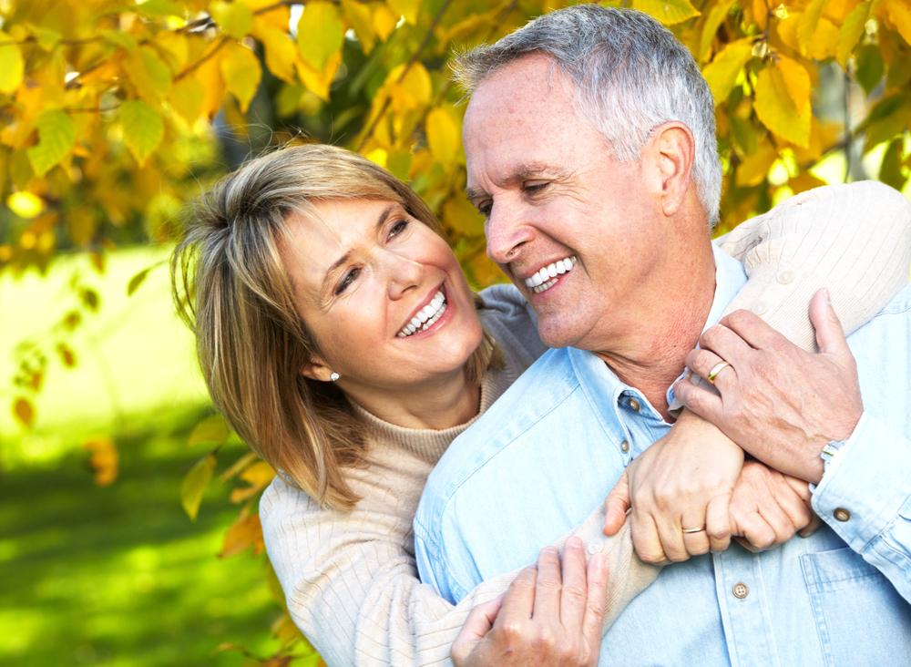 Shutterstock Senior Couple Hug Smile